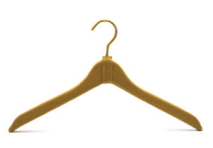 High Quality Garment Usage Cloth Coat Hanger for Display (YLCT019W) pictures & photos