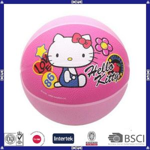 Basketball, OEM Size, Rubber Material, Hello Kitty Design pictures & photos