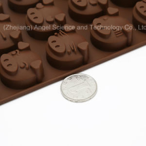 15-Cavity Silicone Chocolate Mold Tool for Decoration Cake Mold Sc22 pictures & photos