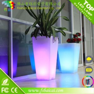 Color Changing LED Flower Pot for Home Decoration pictures & photos