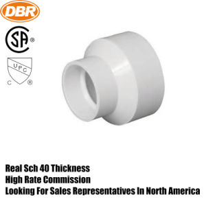 Dbr Manufacturer 2*1.5 Pipe Increaser, Reducer PVC Fitting