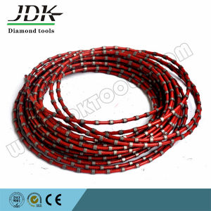 Diamond Wire Saw Diamond Rope for Marble Block Squaring pictures & photos