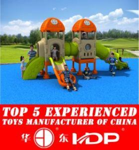Newest 2016 Whloe Plastic Playground, Outdoor, Indoor Playground, Safe Playground HD16-158c pictures & photos