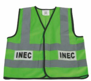 Reflective Safety Vest, Black Wedding, Warning Reflective Tapes, Logo Available pictures & photos