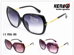 Fashion Sunglasses with Metal Temples for Lady UV400 Kp41100 pictures & photos