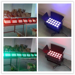 Cheap 18PCS RGBW 4in1 LED Light for Building Wash pictures & photos