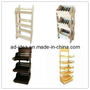 Wooden Display Stands for Jewelry Shop Products /Clothes /Advertising (Ad-130502) pictures & photos