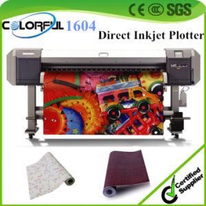 Manufacturer Infinity Printer Direct Inkjet Roll to Roll Printing Machinery (Colorful1604)