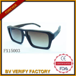 Handmade Square Frame Wooden Sunglasses (FX15003) pictures & photos