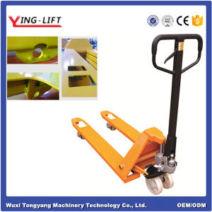 2.5 Tons Hydraulic (Hand) Pallet Truck with Competitive Price Yld25b-1 pictures & photos