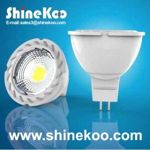 Aluminium 5W COB LED Spotlight (SUN10-COB-GU10-5W-F) pictures & photos