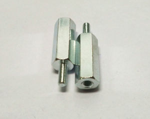 Turning Parts Length Hex Hollow Cylinder Copper Column Stud pictures & photos