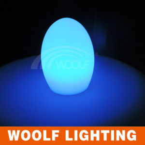 Modern Design Party Decorations Colorful LED Egg Light pictures & photos