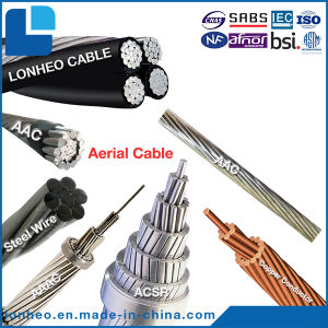 aerial cable abc aac aaac acsr steel wire copper stranded wire