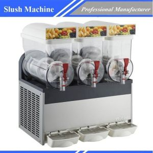 Slush Machine Beverage Machine Commercial restaurant Xrj-15L*3 pictures & photos