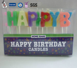 Best Selling Personalized Eco-Friendly Raw Material Wholesale Birthday Candle pictures & photos