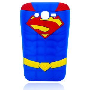 Superman Silicone Case for iPhone 7 7plus Motorola G4 Phone Accessories (XSY-006)