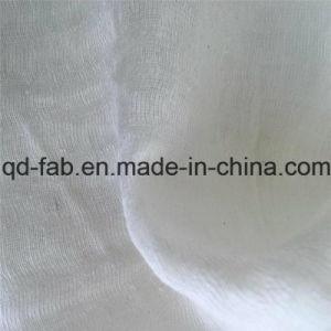 65%Linen20%Cotton15%Nylon Jacquard Gauze Fabric (QF16-2509) pictures & photos