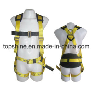 Adjustable Professional Factory Polyester Working Full-Body Safety Harness Belt pictures & photos