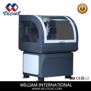 Acrylic Metal 3D Wood Carving Machine Desktop Mini CNC Router (VCT- 6040C) pictures & photos