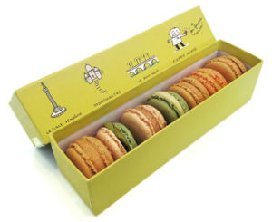 Eco-Friendly Cardboard Macaron Box pictures & photos