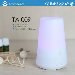 Aromacare Colorful LED 100ml Rainbow Aroma Diffuser (TA-009) pictures & photos