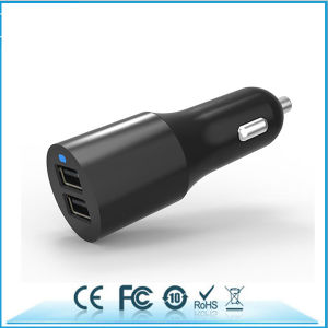 Mobile Phone Accessories 3.1A Portable 2 Port USB Car Charger pictures & photos