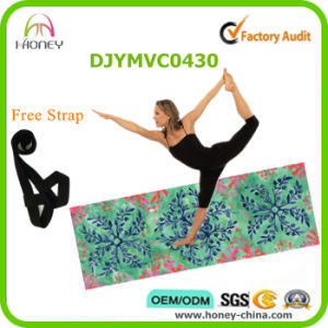 """Foldable Yoga Mat and Towel at 1/8"""" (3mm) Thick pictures & photos"""