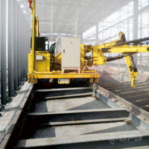 Rail Mounted Automated Transfer Trolley Used in Steel Tube Factory pictures & photos