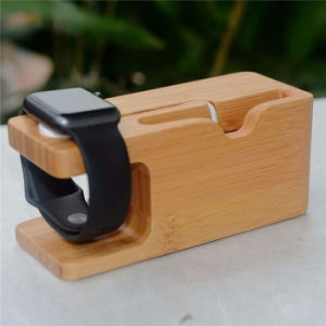 Creative New Mobile Phone Charging Base Two-in-One Watch Stand Holder pictures & photos