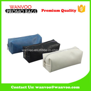 High Quality PU Canvas Eco Cosmetic Bag pictures & photos