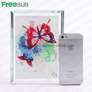 Freesub Sublimation Glass Photo Frame for Heat Press (BL-02) pictures & photos