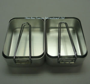 2 Sets Aluminum Food Box for Outdoor pictures & photos