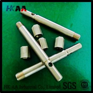 Brushing & Ploshing Precision Turning CNC Mechanical Parts Zinc Plated pictures & photos