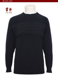Men′s Yak Knitted Round Neck Long Sleeve Pullover Sweater for Autumn pictures & photos