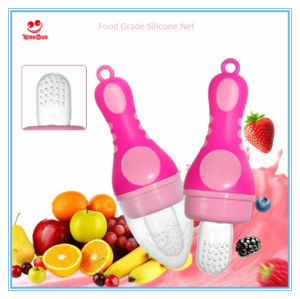 Lovely Torch Shape Baby Food Feeder Pacifier for Babies pictures & photos