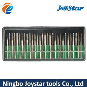 30 PCS diamond coated burrs glass drill bit set DB300 pictures & photos