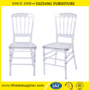 Modern Event Crystal Clear Napoleon Dining Chair Wedding Chair pictures & photos