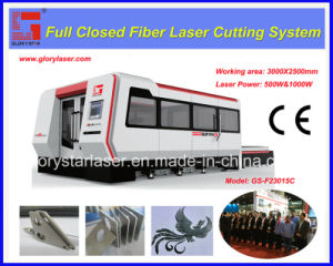 1000W Fiber Laser Cutting Machine with Protective Cover pictures & photos