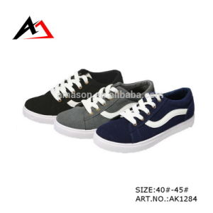 Canvas Casual Shoes Fashion Wholesale High Quality Footwear (AK1284) pictures & photos