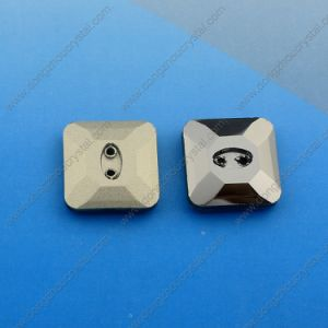 Loose Garment Stone Crystal Button Square Shape pictures & photos