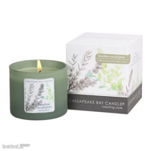 Christmas Decorative Scented Soy Candle in Glass with Gift Box