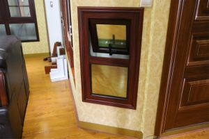 Profile Casement and Top-Hung Aluminum Window with Security Factory Price