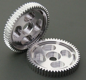 Aluminum Anodised Motorcycle Spur Gears for Racing Car/Telecontrolled Aircraft pictures & photos