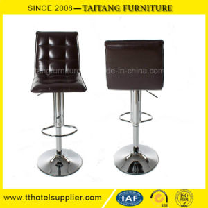 Hotsale Square PU Leather Swivel Bar Chair pictures & photos