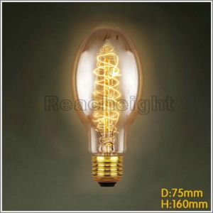 Wholesale Spiral High Quality Bulbs Lights Edison Candle Lamp pictures & photos