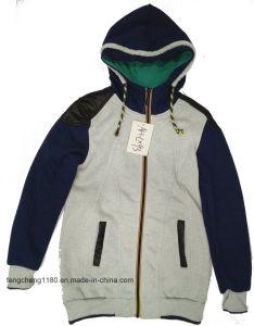 Women′s Spring/Autumn Fleece Zipper Hoody Jacket