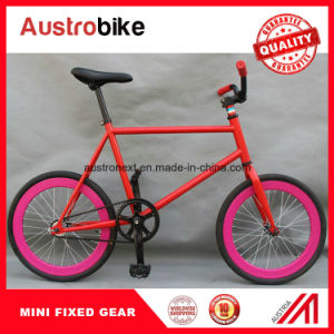 Mini Fixed Gear Bike 20 Inch Mini Colorful Fixed Gear Bike pictures & photos