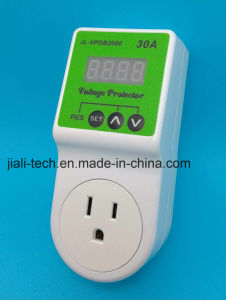 Automatic Power Voltage Protector Can Set by Yourself 30A