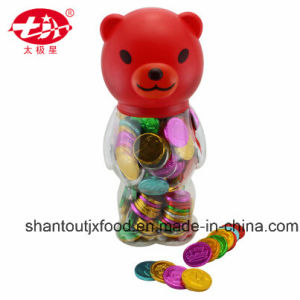 Cartoon Bottle Bear Shape Bubble Gum Coin pictures & photos